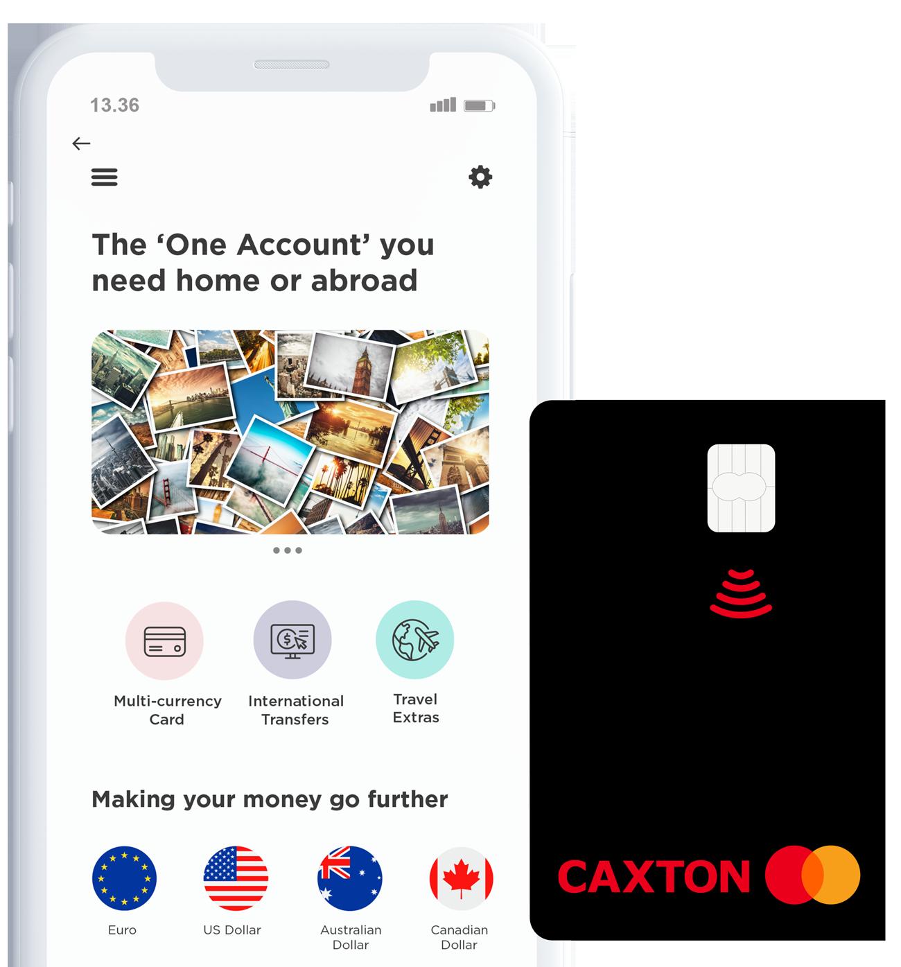 Caxton Best Travel Money Card UK